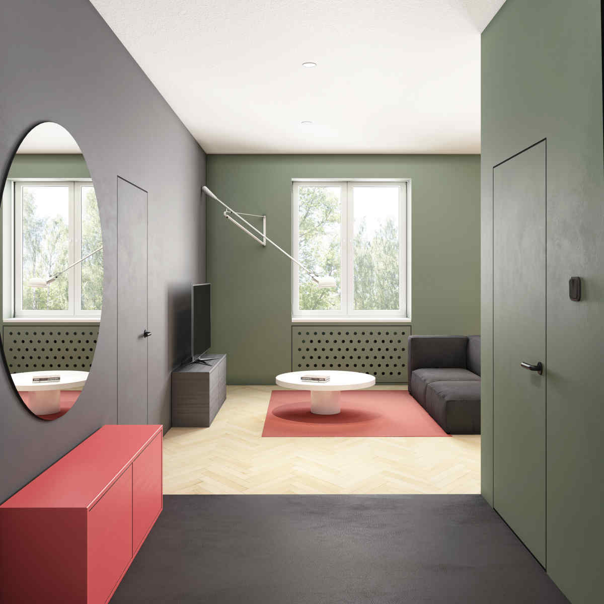 Top Living Room Colors For 2020.Color Trends 2020 Starting From Pantone 2019 Living Coral
