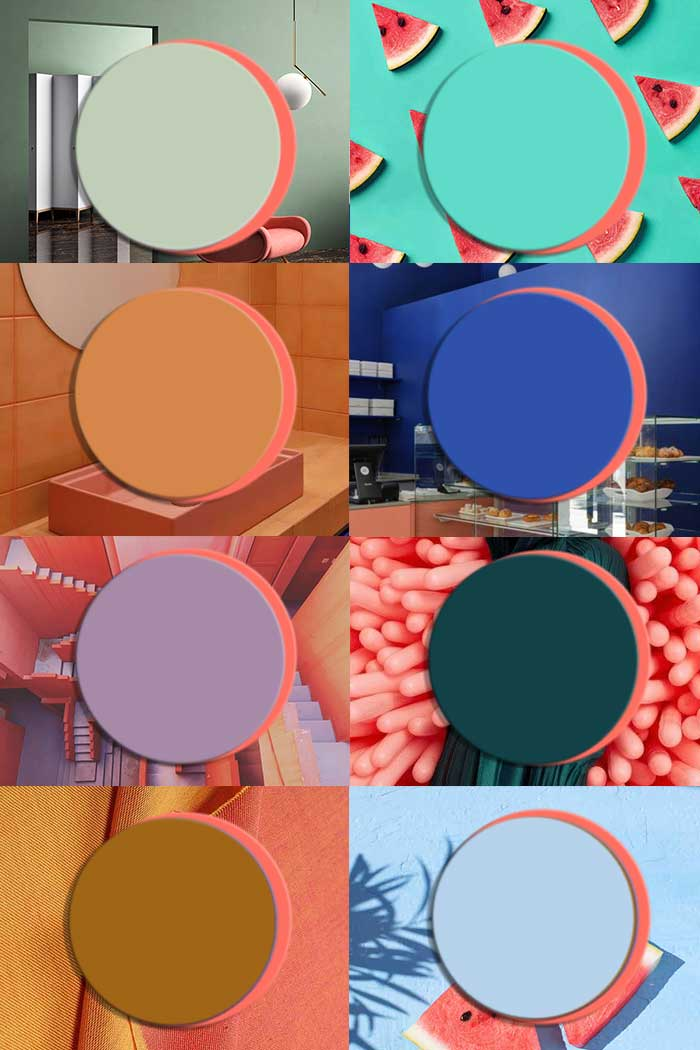 color trends 2020 interiors, pantone 2019 living coral, interior trends, italianbark interior design blog