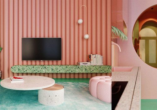 HOME TOUR | An interior in Pantone 2019 and other trendy colors