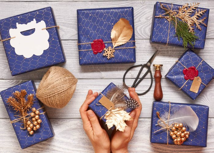 Christmas Wrapping Ideas for Design Lovers + Best Wishes