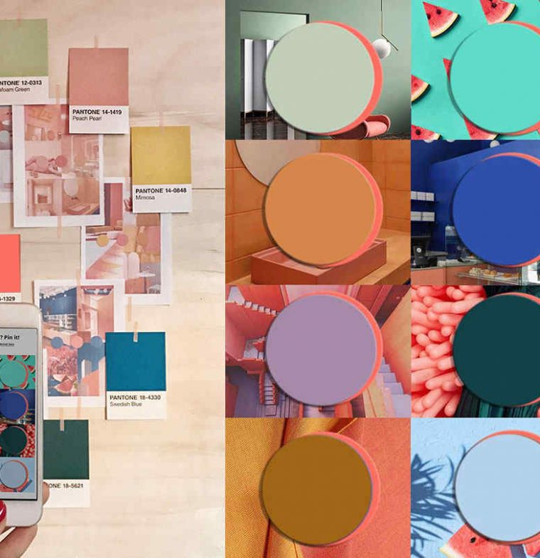 Cool Color Trends for 2020 starting from Pantone 2019 Living Coral