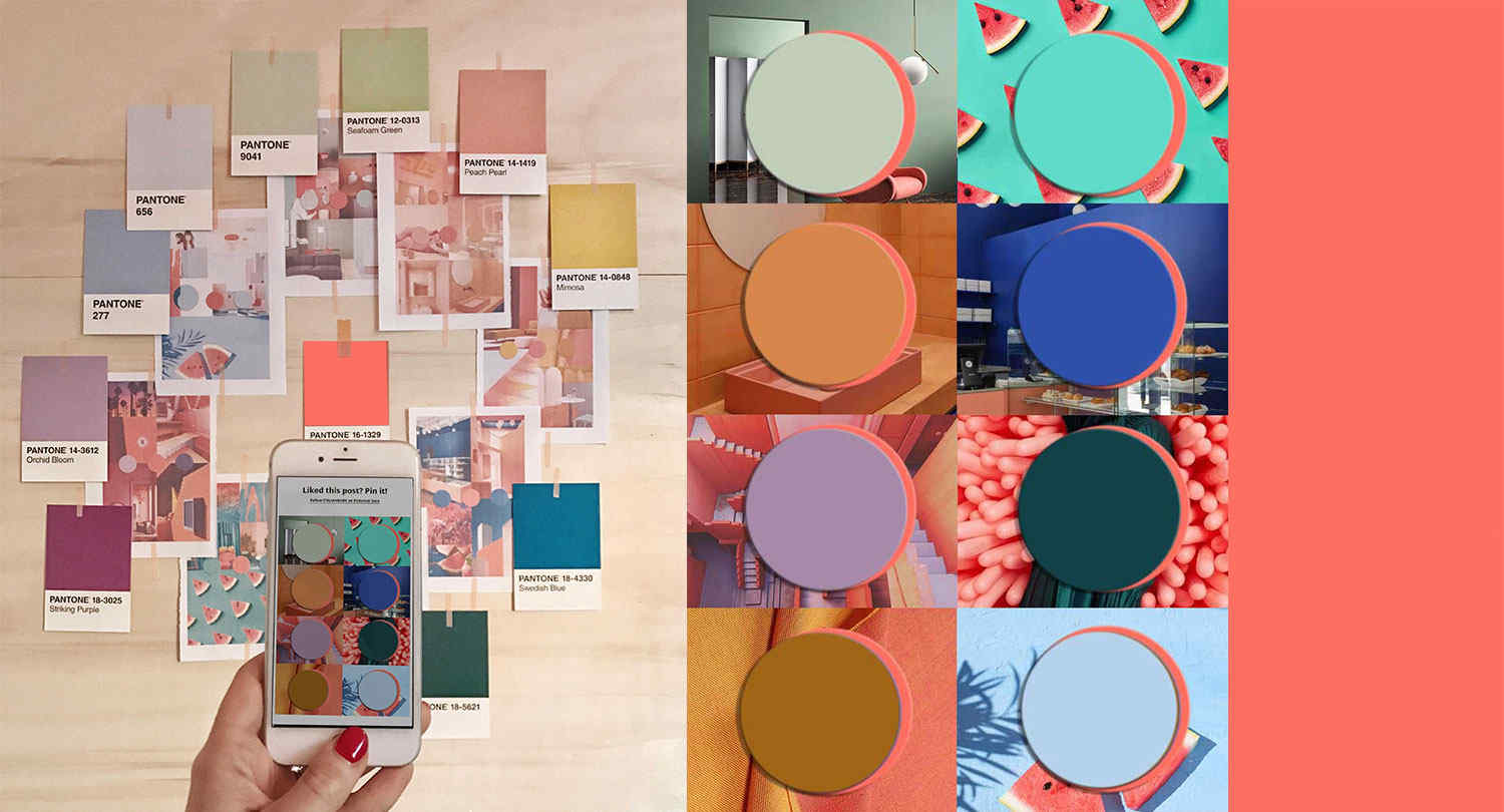 Color Trends 2020.Color Trends 2020 Starting From Pantone 2019 Living Coral