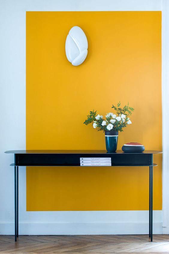 mustard yellow interior design color trend, italianbark interior design blog, yellow home decor, yellow wall paint