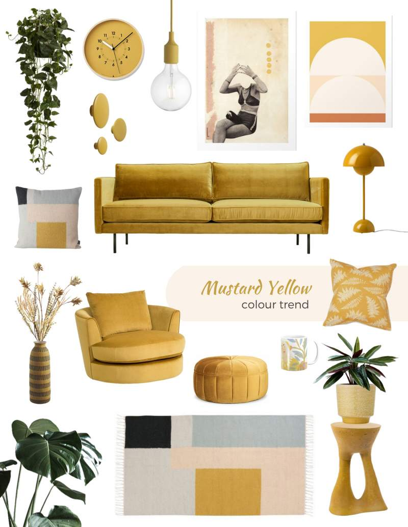 home shopping online mustard yellow decor and furniture, mustard yellow decor