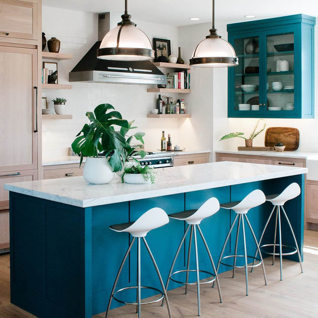 The Trendiest Kitchen Colors For 2019 Are Definitely Not: KITCHEN TRENDS 2020 Colourful Kitchens By Bertazzoni