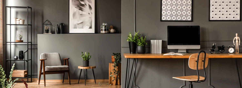 how to design a productive home office, italianbark interior design blog