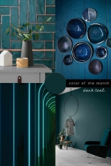 dark teal color trend interiors design italianbark