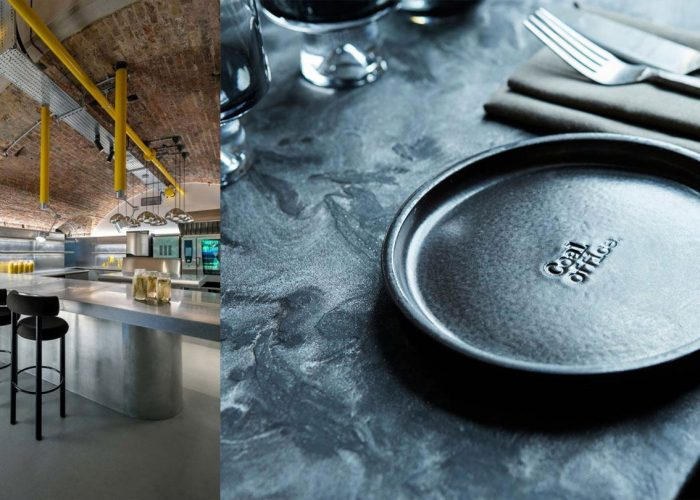 RESTAURANT DESIGN | A day in the Coal office, Tom Dixon's restaurant in London