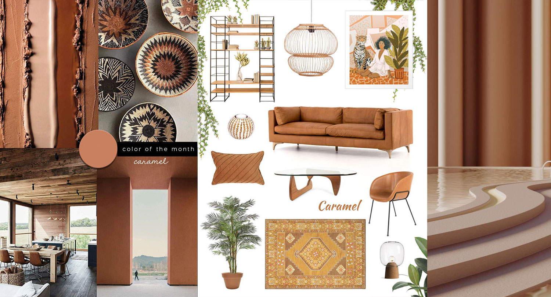 Caramel Color Decor And Tan Home Shopping Ideas