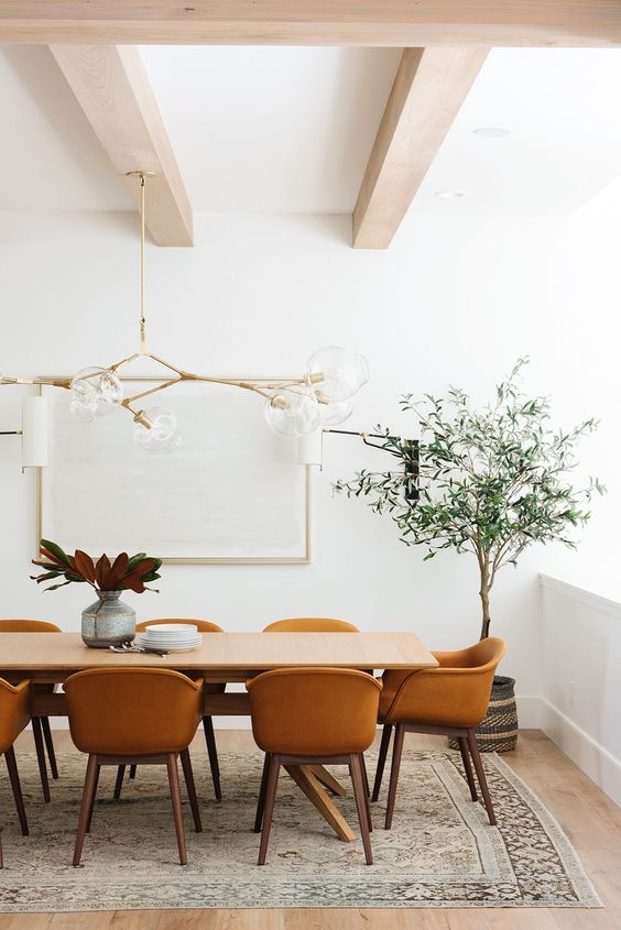 INTERIOR COLOR TRENDS 2020 : Brown caramel interiors and ...