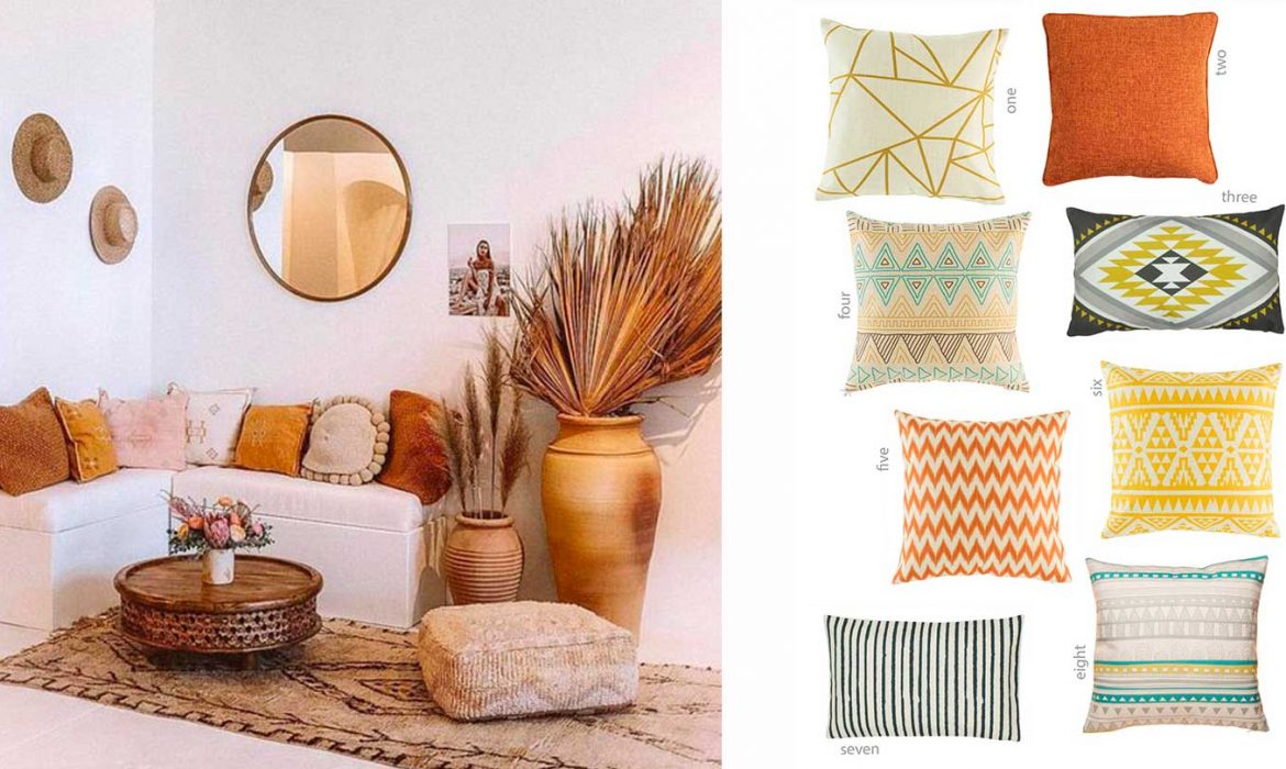 SHOP IT | Cool boho cushion covers to renovate your old sofa for Spring