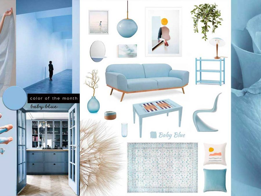 Baby Blue Pastel Home Decor Be Inspired
