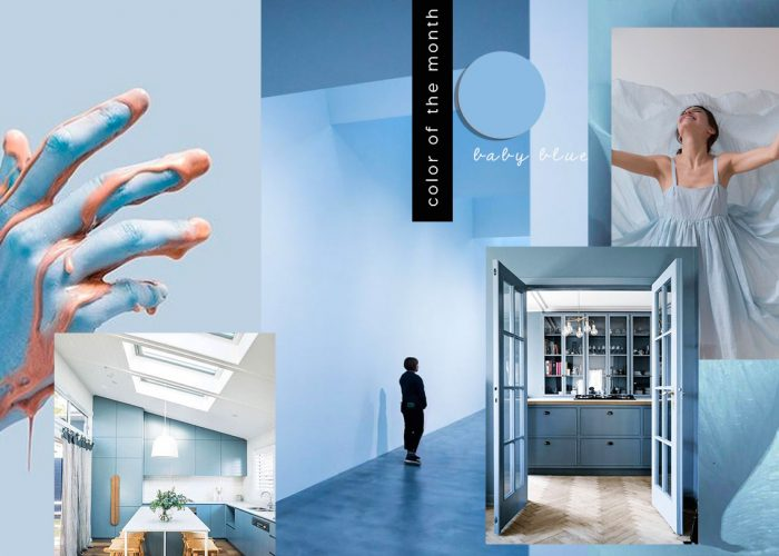 COLOR OF THE MONTH | The joy of Baby Blue