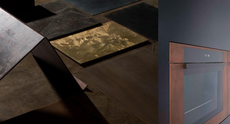 Metallic Interior Trend In Kitchen Design Get The Look