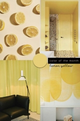 color trends 2020 lemon yellow