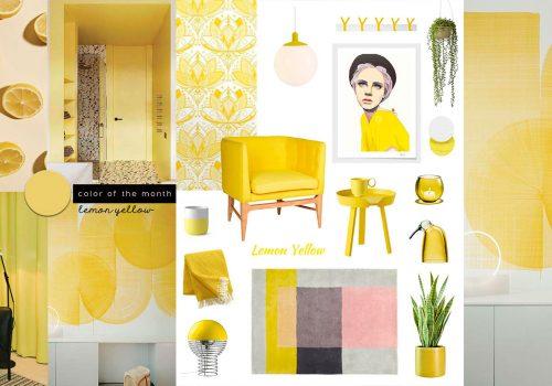 SHOP IT | Flirtatious Lemon Yellow Furniture and Decor