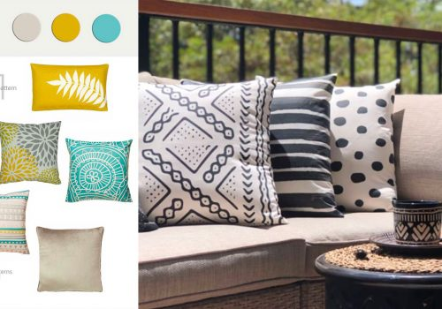 INTERIOR TIPS | How to match cushions like a pro