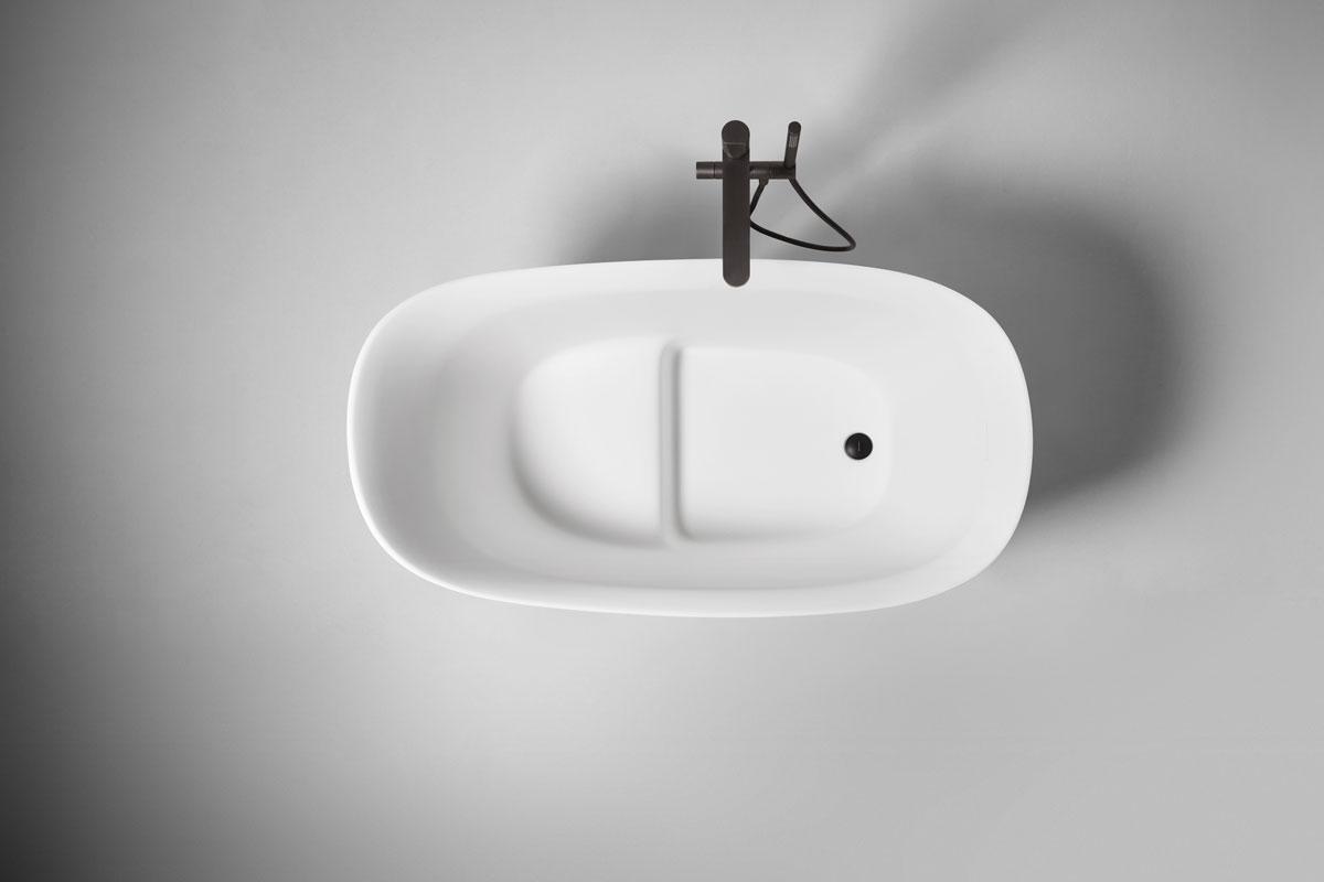 interior design trend organic shapes, bathroom design, antoniolupi, bathtub design, Italian bathroom design