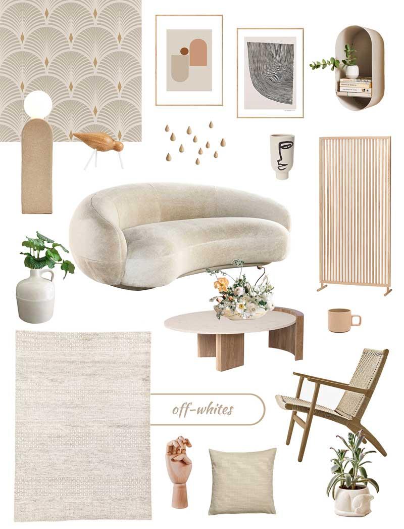 New Nordic Interior Trend | Off-Whites Home Decor