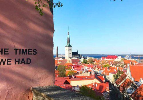 visit Tallin in a weekend, things to do Tallinn 24 hours, Tallinn panorama