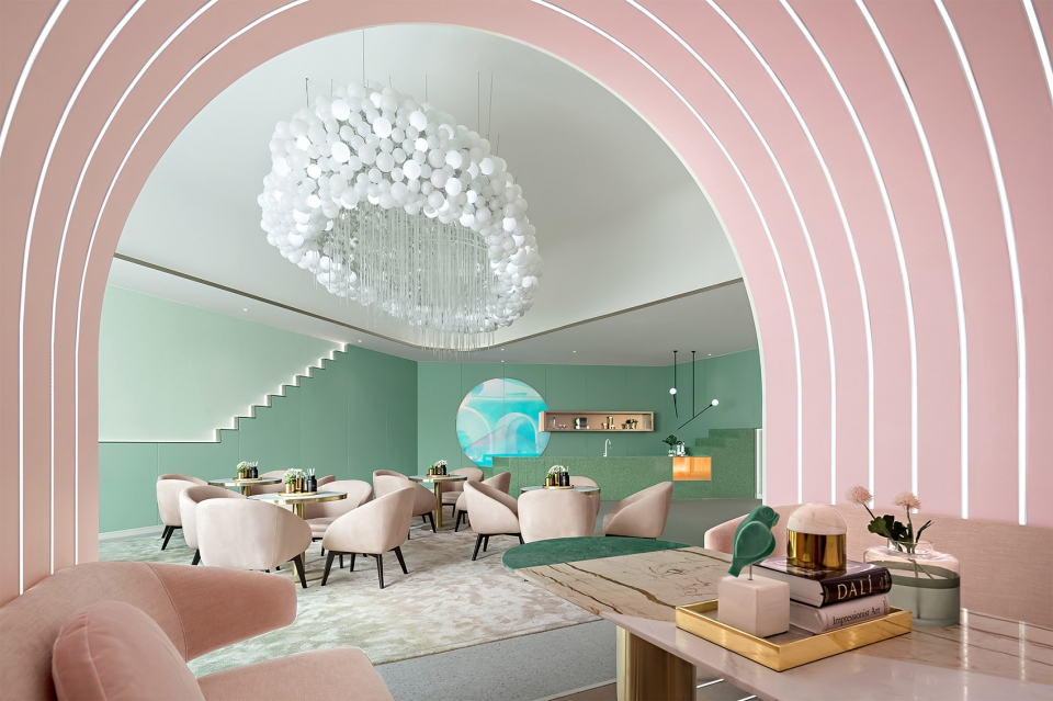 COLOR TREND 2020 Neo mint in interiors and design