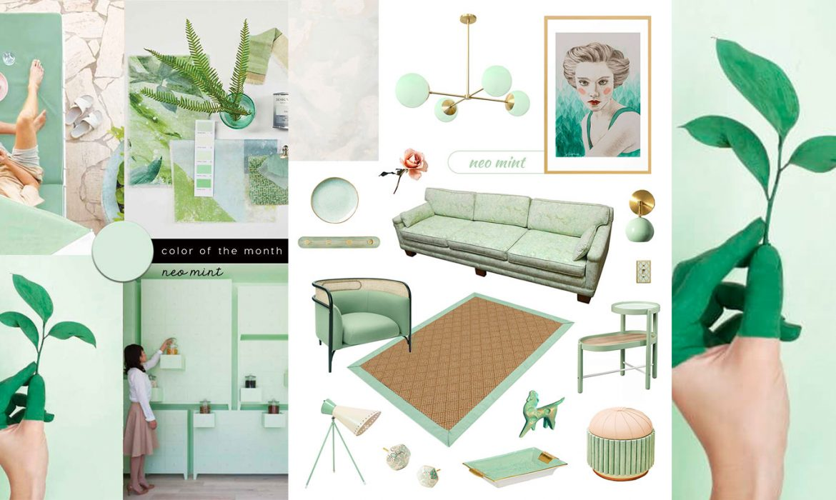 SHOP IT | Be inspired by Neo Mint Home Decor