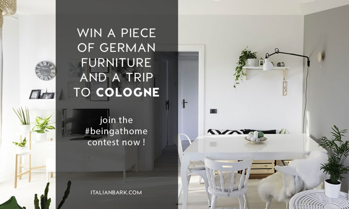 CONTEST | Win a piece of German furniture design and a Trip to the imm cologne 2020