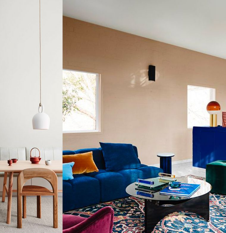 COLOR TRENDS | The top palettes in interiors and decor for the next year