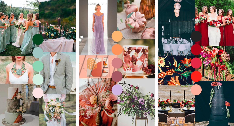 2020 Wedding Decor Trends.Top Wedding Color Trends For This 2020 Italianbark