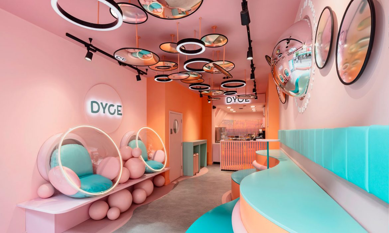 SHOP DESIGN | Playful ice cream shop in London