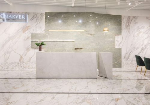 ITALIAN DESIGN | Marble look tiles and other news by Ceramiche Caesar