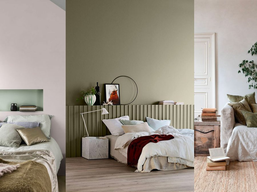 Green wall paint COLOR TREND 2020
