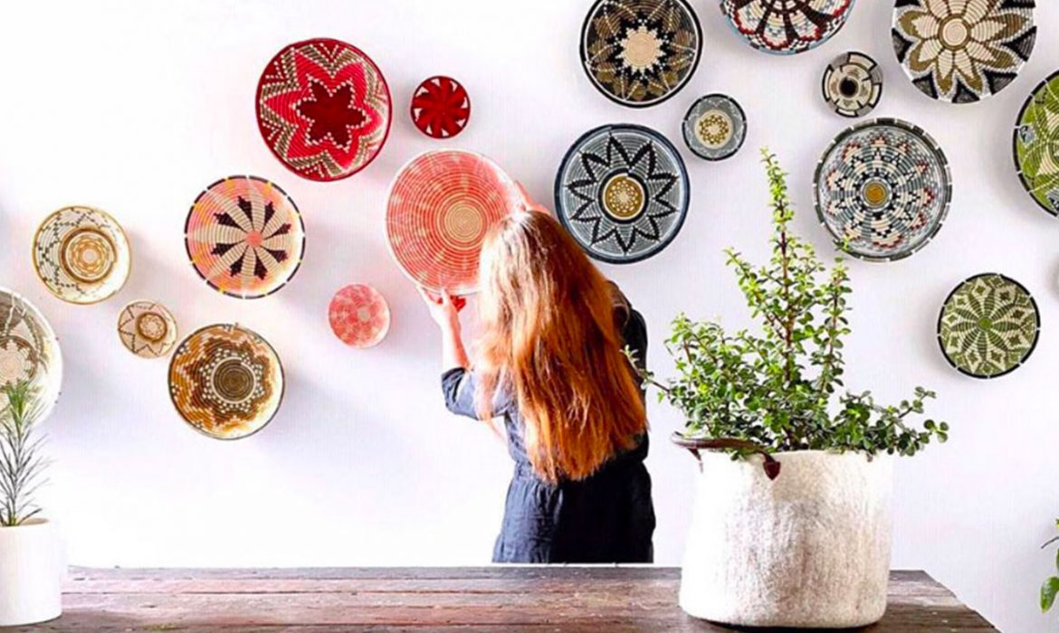 DECOR TIPS | How to decorate with African Baskets