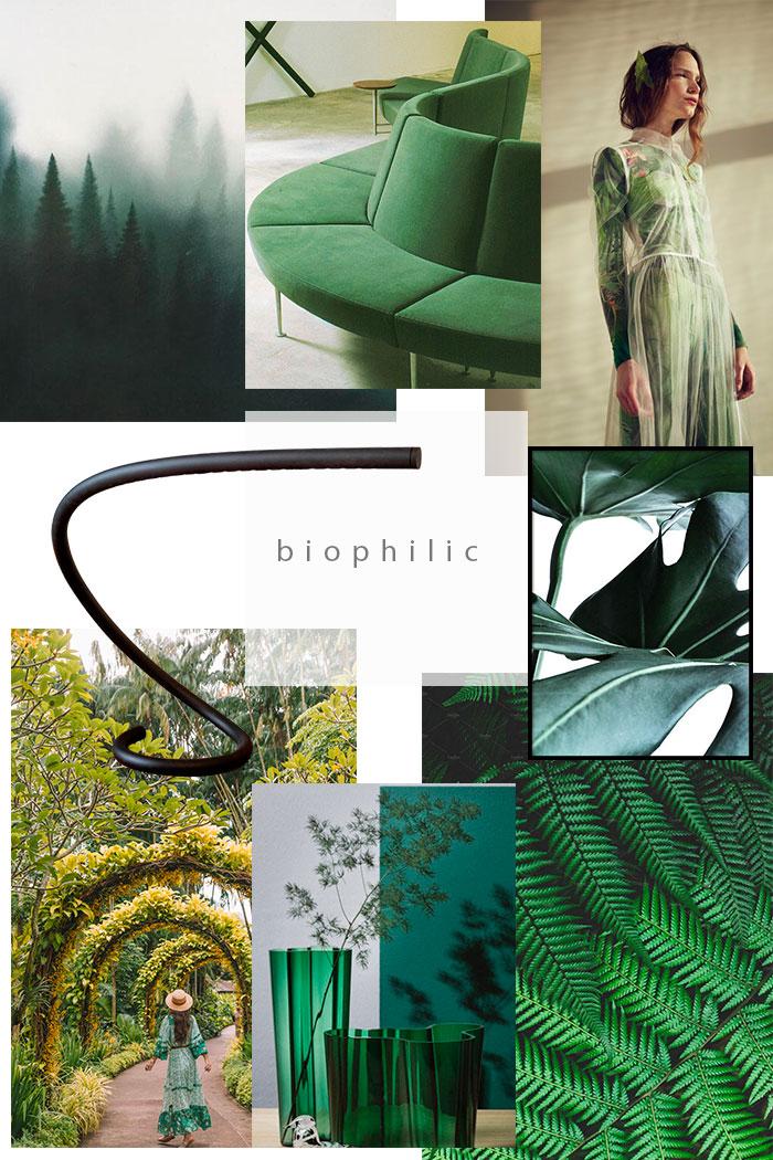 interior design trends 2020 2021, Biophilic design trend