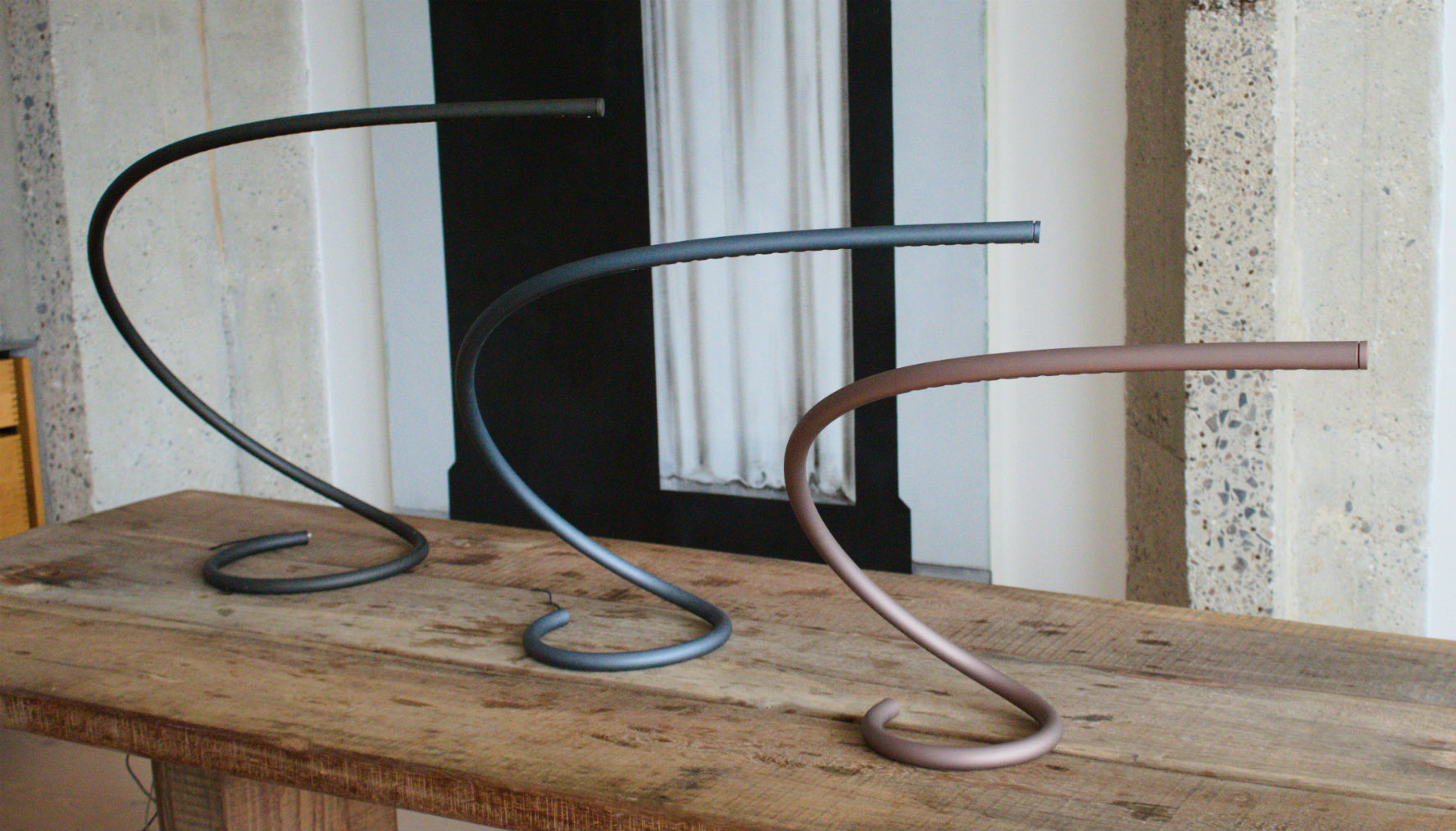 The Squiggle Lamp