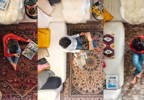 DECOR TRENDS   6 Rug Trends I tried now for 2020