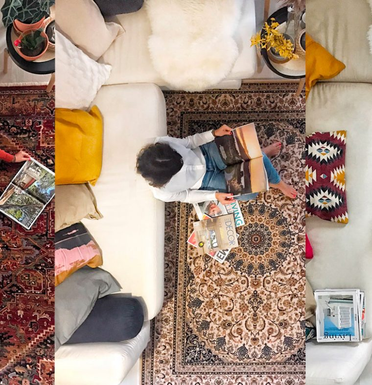 DECOR TRENDS | 6 Rug Trends I tried now for 2020