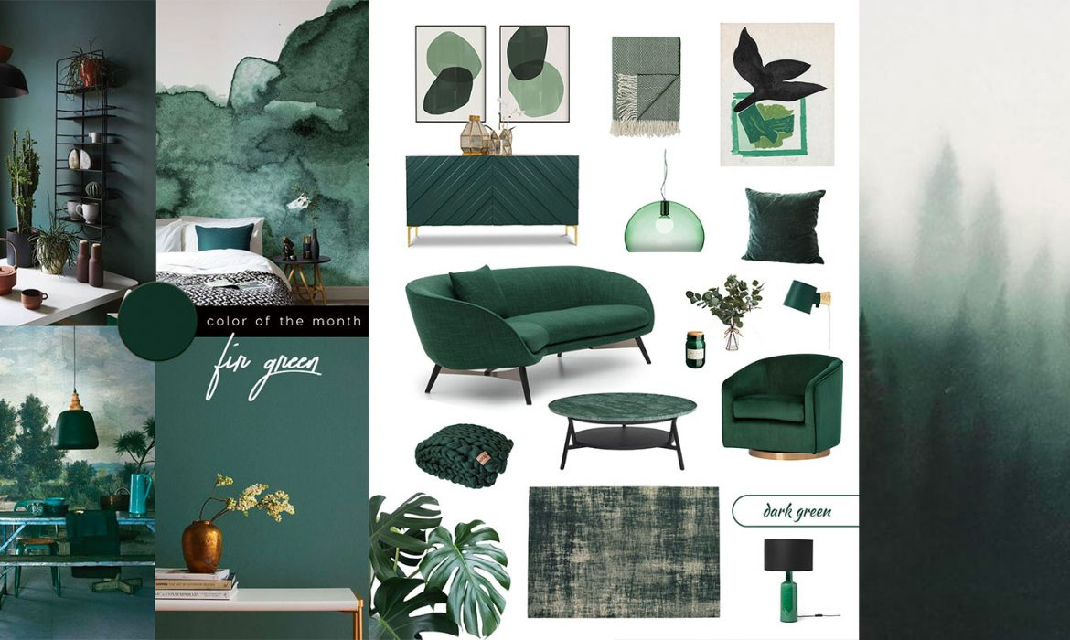 Best Dark Green Furniture and Decor for a Biophilic Design Trend at Home