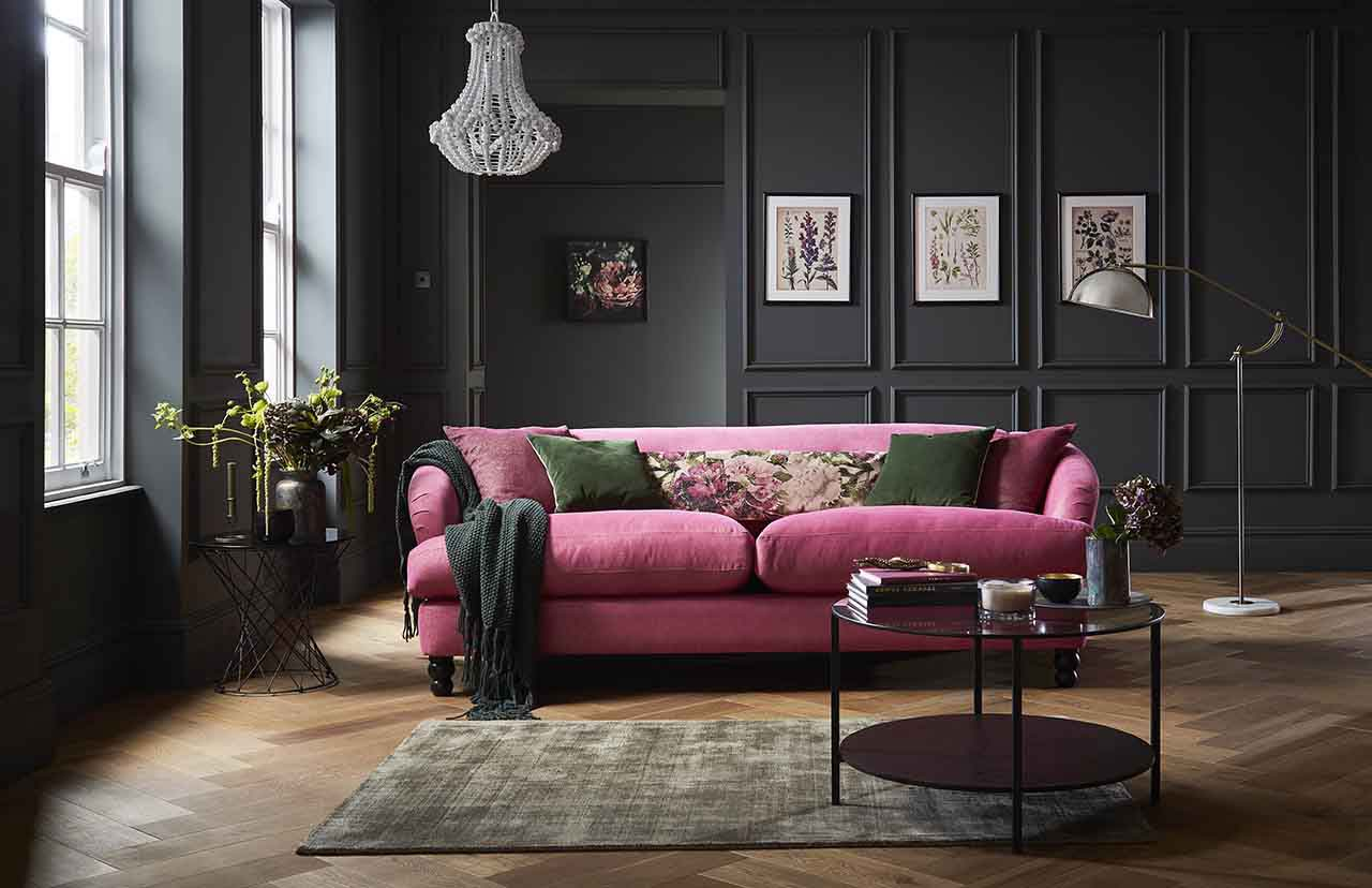 How To Decorate With Dark Colors Including Pantone 2020 Classic Blue