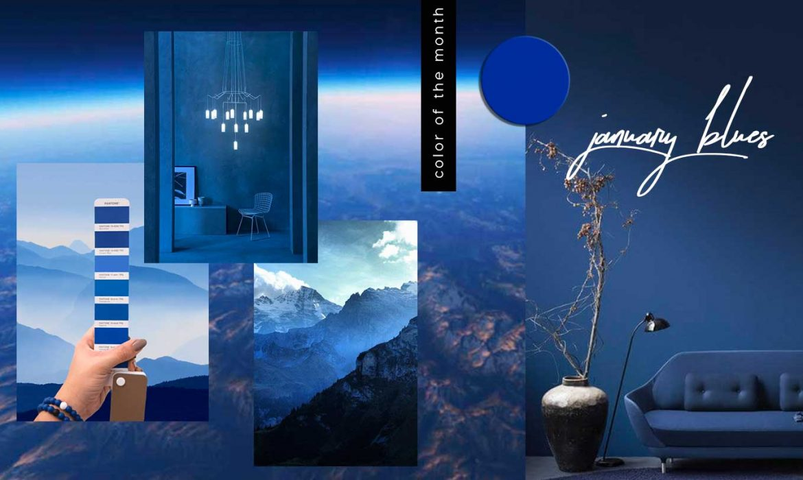 COLOR OF THE MONTH | January Blues – part 1