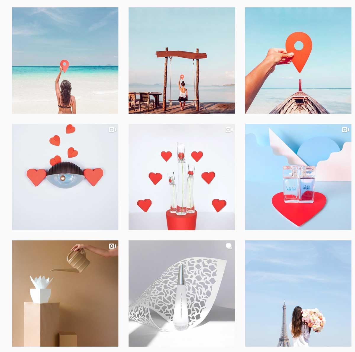 7 Colourful Instagram accounts