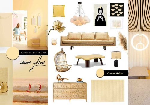 creating a relaxing interior design, cream yellow interior decor, home shopping online