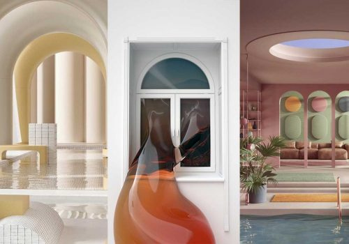 DESIGN TRENDS   A new generation of digital interiors and illustrations