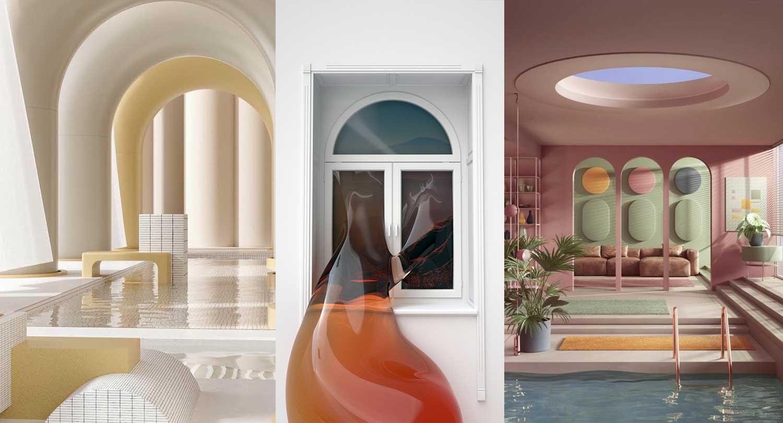DESIGN TRENDS   New digital interiors and 32d realities