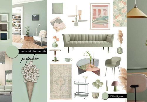 SHOP IT | Promoting the New Well-Being with light green furniture and decor