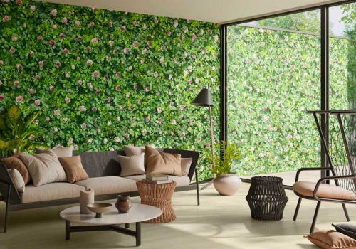 Create your vertical garden indoor with the Self-cleaning green tiles by Casalgrande Padana | Biophilic design trend to decorate homes in the post-pandemic