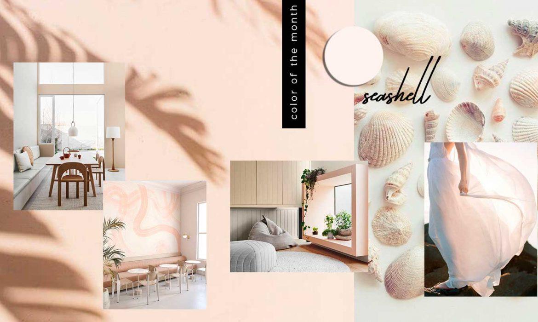 nude interior, neutral paint interiors, monochrome interior trend, minimalist home design, nude color trend, COLOR TRENDS 2021 | Nude color trend in interiors and design