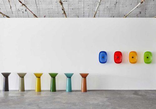 ITALIAN DESIGN   A colorful bathroom with Cristalmood