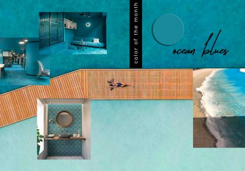 Protected: COLOR OF THE MONTH   A dive into Ocean Blue – full