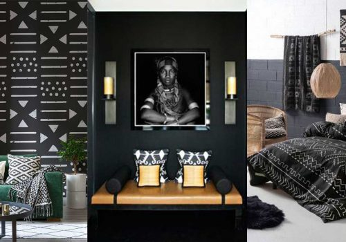 INTERIOR TIPS | Get the African inspired total black interior look